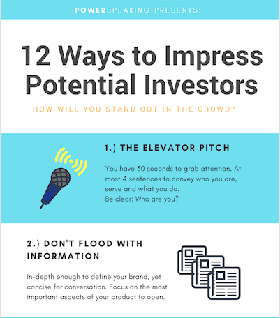 12 Ways to Impress Potential Investors