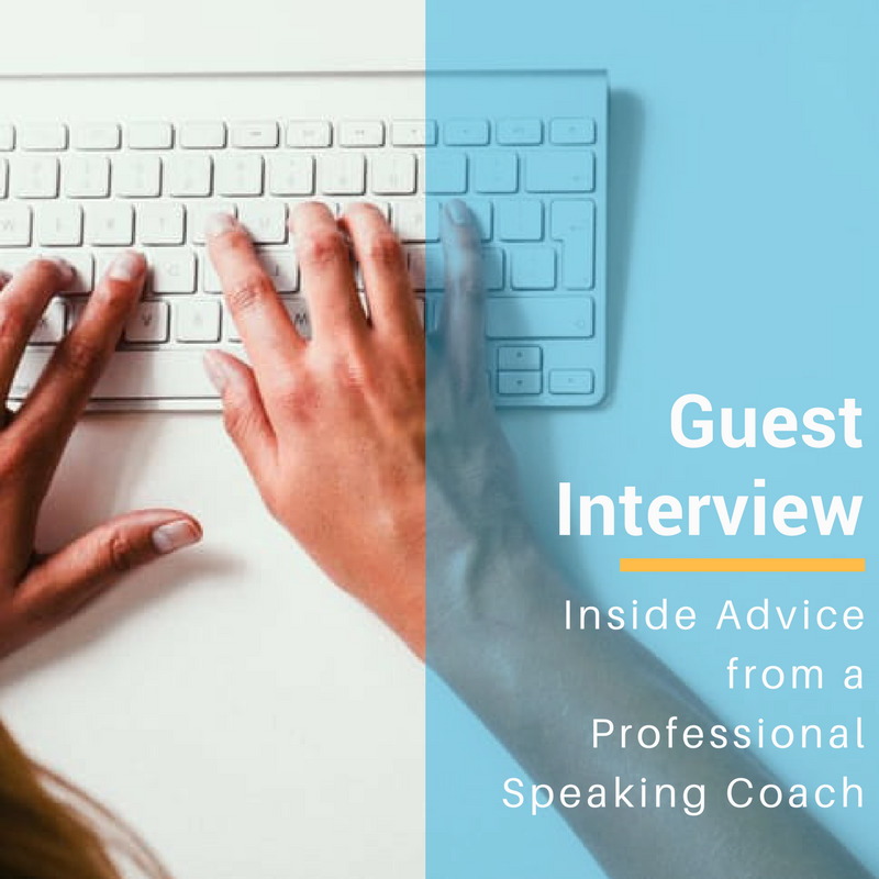 Inside Advice From a Professional Speaking Coach