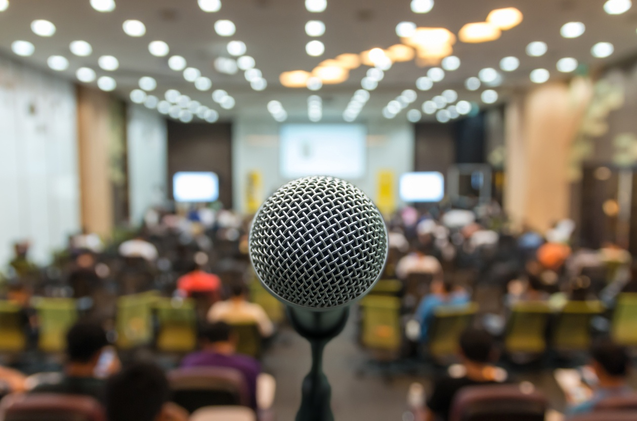 Are You Up to the Conference Speaking Challenge?